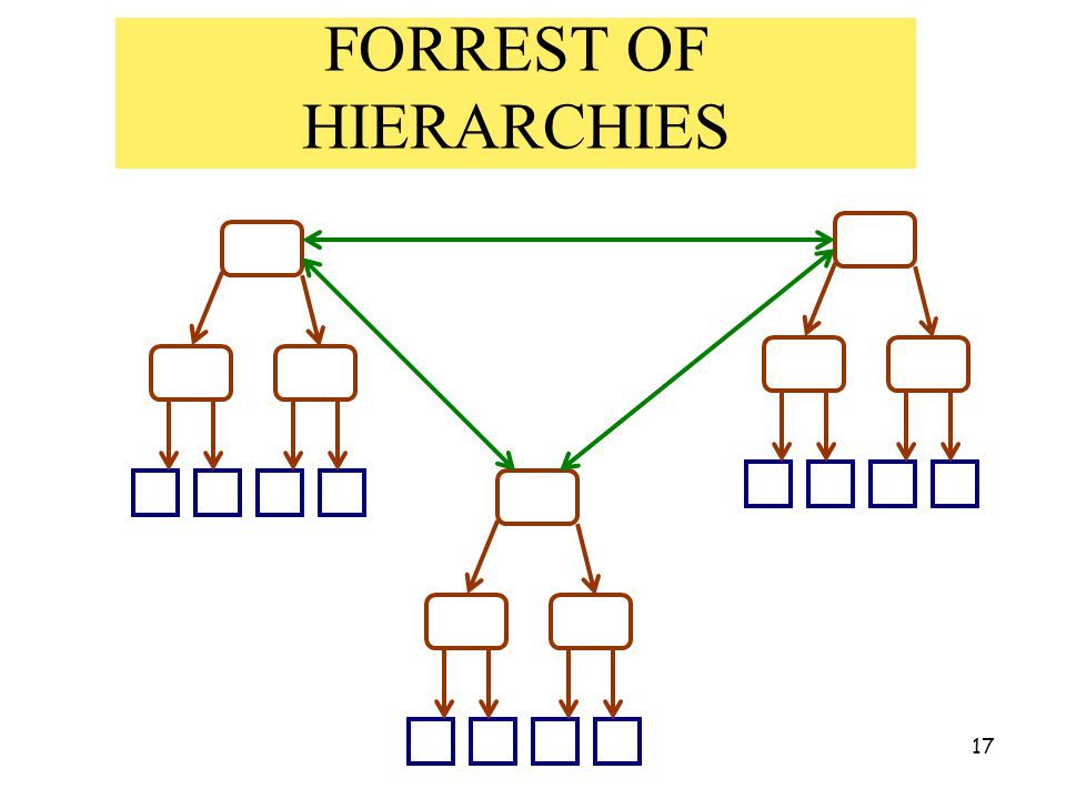 17 FORREST OF HIERARCHIES