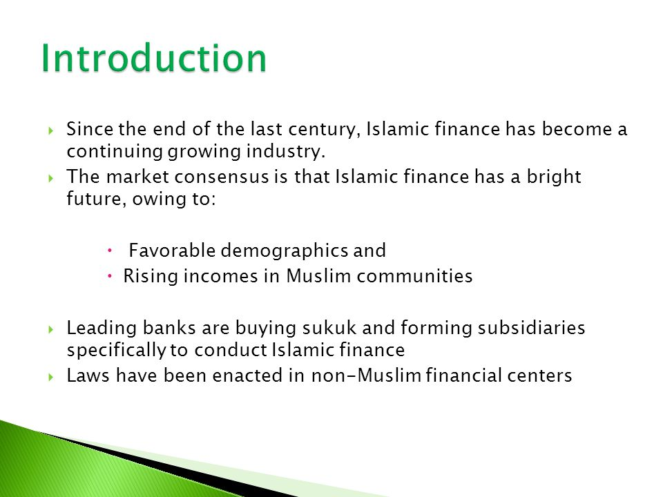 Pioneer Sukuk Issuers : Malaysian, Shell (1990), Sudan Government (2000) Sukuk become global from 2001 : USA issued Sukuk al Ijarah of US 100 Million (5 year tenor) Central Bank of Bahrain issued Sukuk Al Salam After that Sukuk issued in various jurisdictions: Malaysia, UAE, KSA, Indonesia, Qatar, Pakistan; bruin, Singapore, Kuwait.