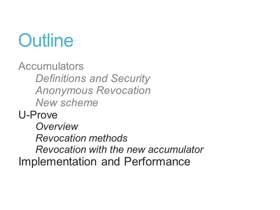 U-Prove Participants: Issuer, User (Prover), Service Provider (Verifier).