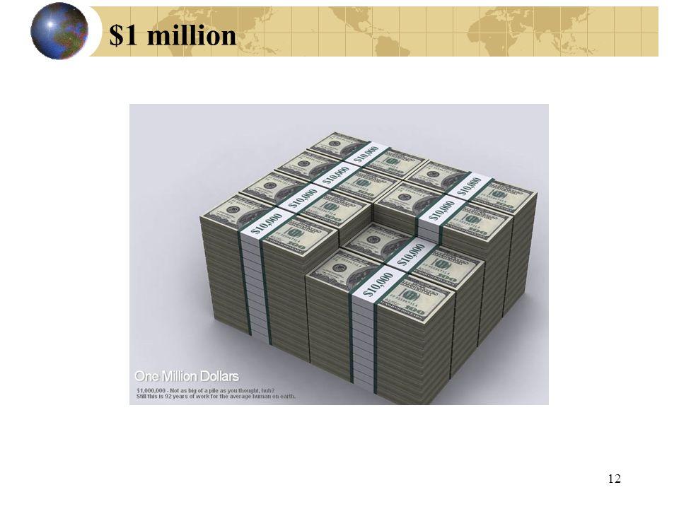$1 million 12