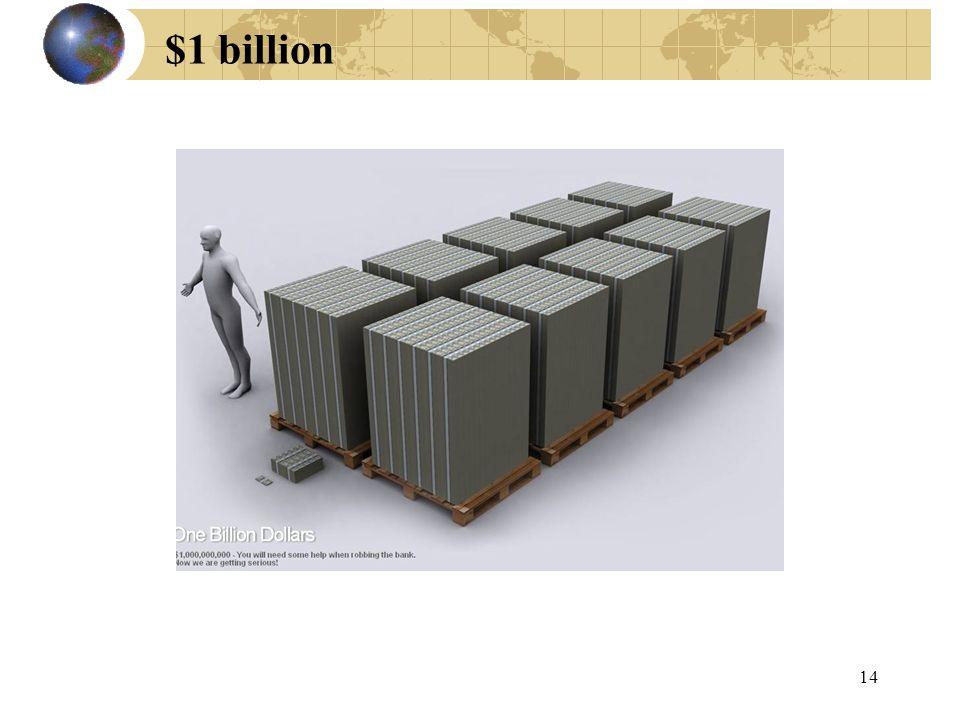 $1 billion 14