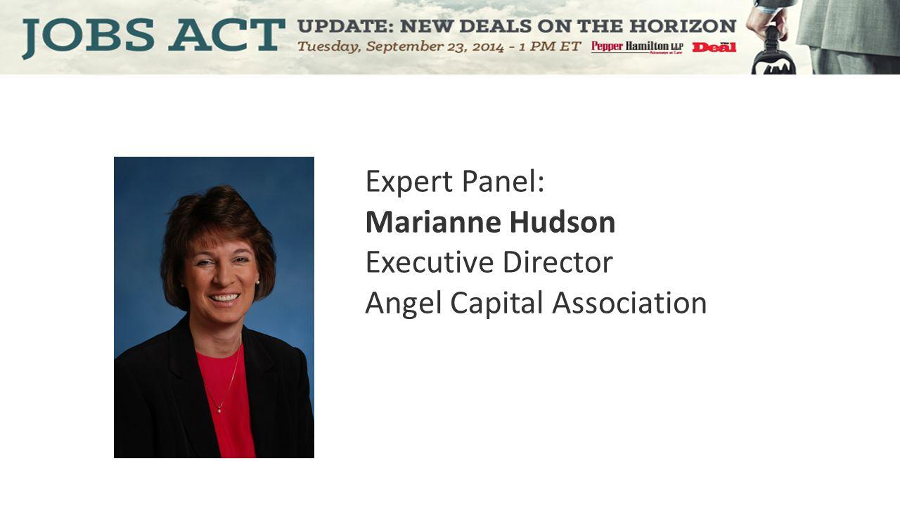 Expert Panel: Gregory J. Nowak Partner Pepper Hamilton LLP