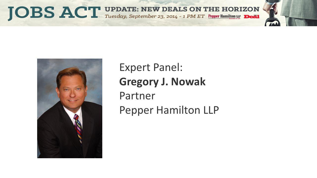 Expert Panel: Brian S. Korn Of Counsel Pepper Hamilton LLP