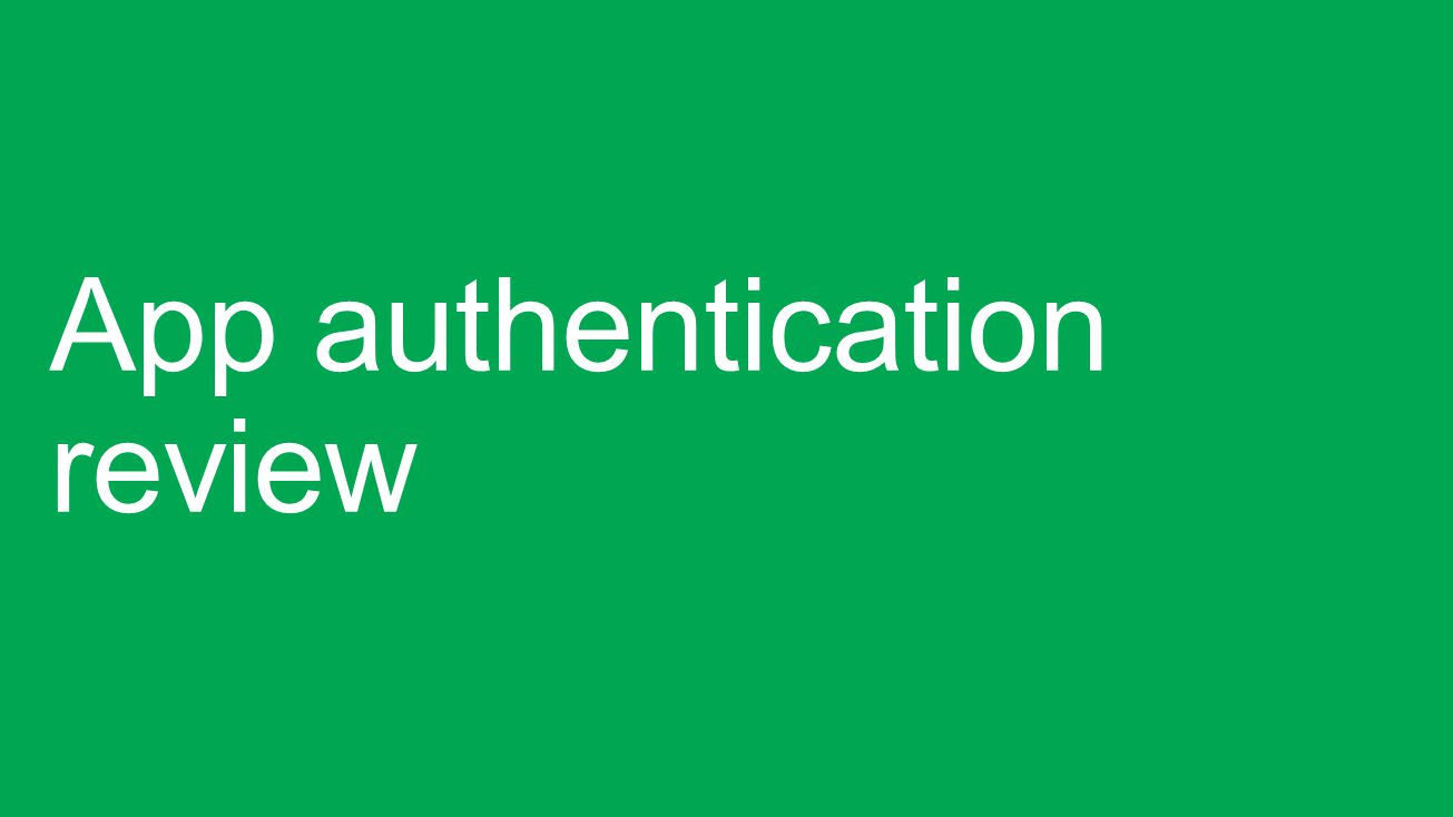 App Identity Online and On-Prem Azure AD AppOffice 365 AppSharePoint Cloud On-Prem