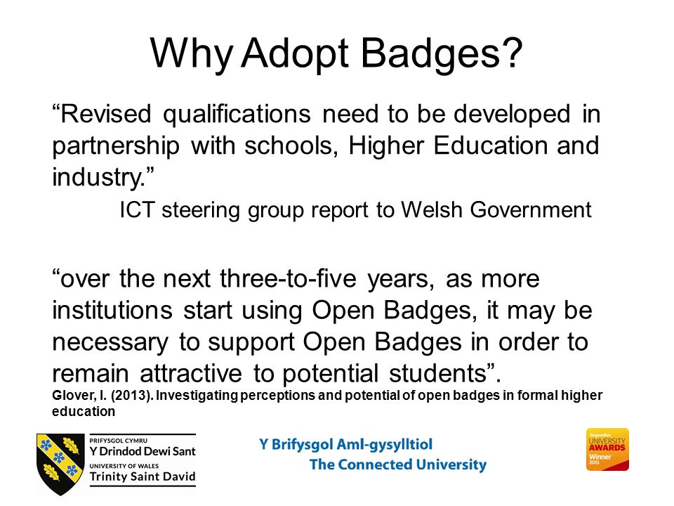 Why Adopt Badges.