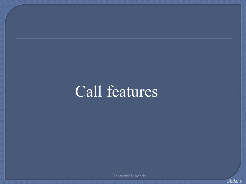 Slide: 69 Structured convertibles - Mandatory convertible securities
