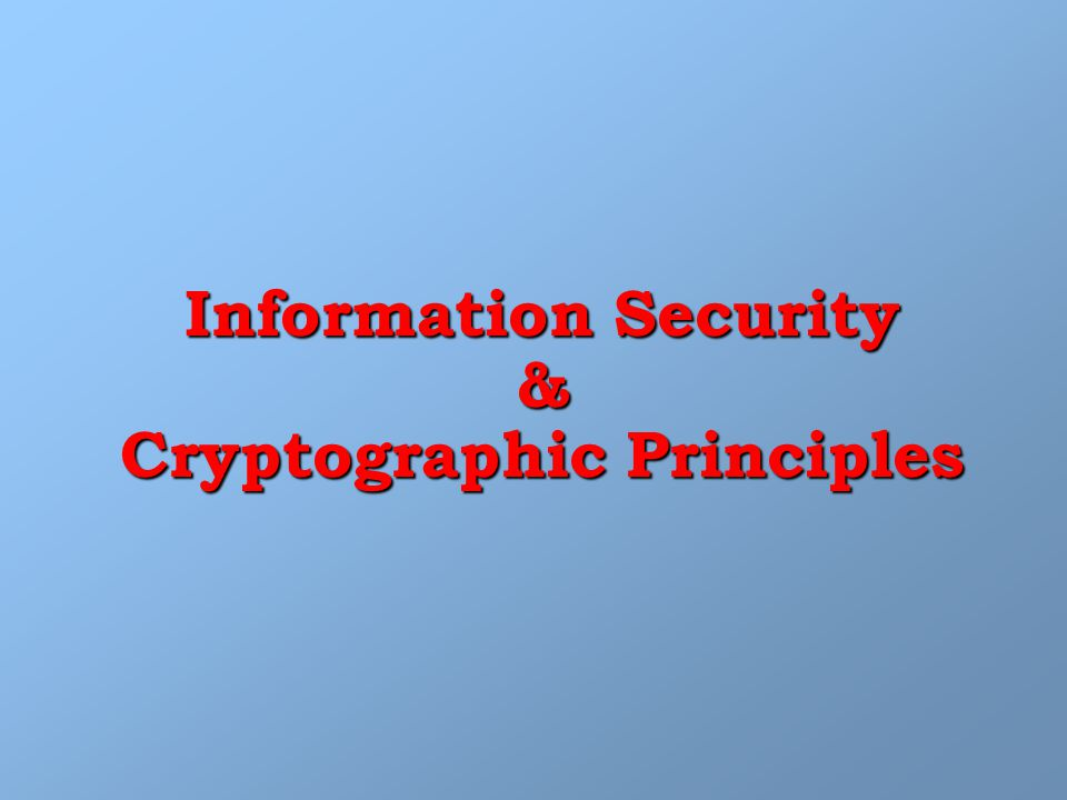 Public Key Cryptography MSG Encryption Bob Public Bob tia Decryption MSG Alice Alice Public Bob PrivateAlice Private Digital Signature … Authentication … Non-Repudiation
