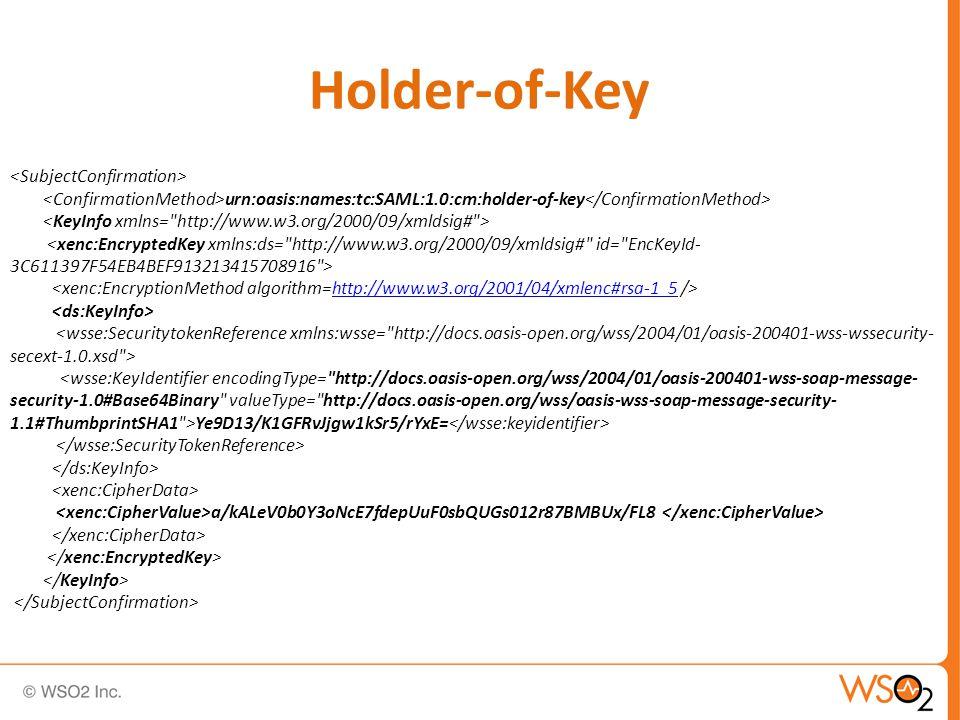 Holder-of-Key urn:oasis:names:tc:SAML:1.0:cm:holder-of-key http://www.w3.org/2001/04/xmlenc#rsa-1_5 Ye9D13/K1GFRvJjgw1kSr5/rYxE= a/kALeV0b0Y3oNcE7fdepUuF0sbQUGs012r87BMBUx/FL8