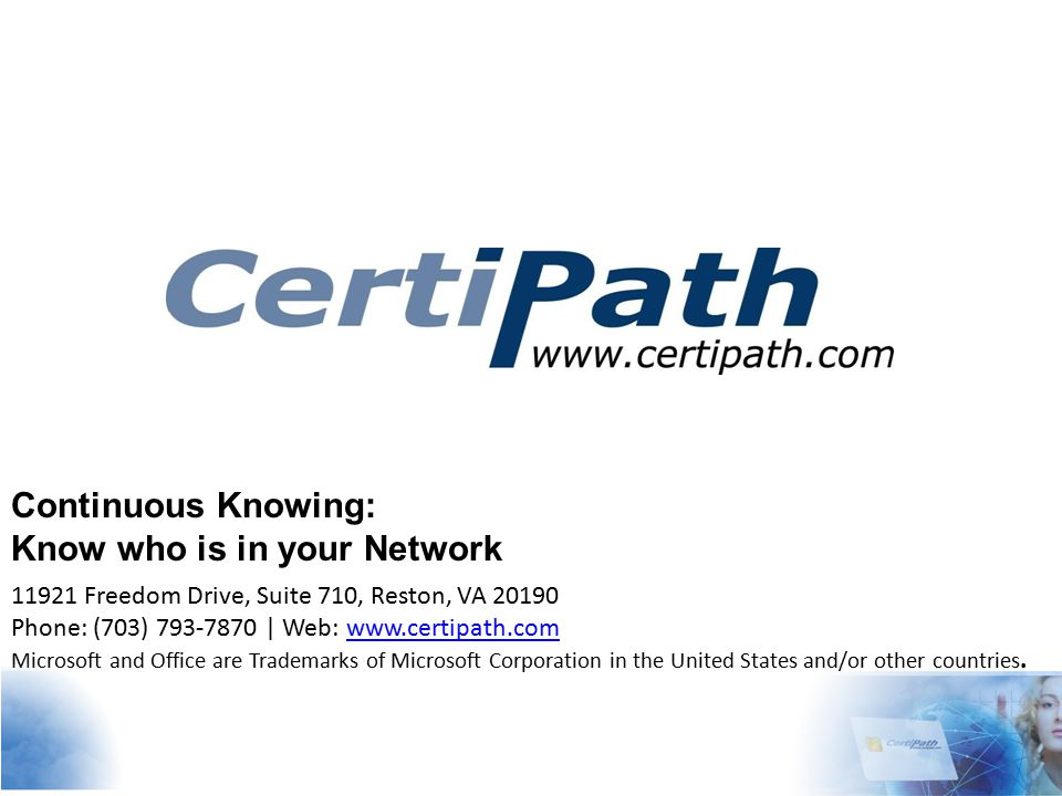 Today: Once issued, credentials are never seen by the issuer.
