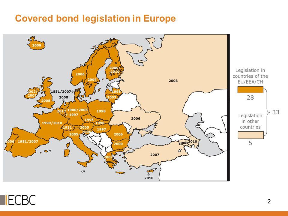 Covered bond legislation in Europe 2