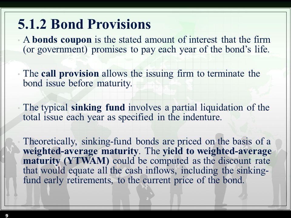 5.2 BOND VALUATION, BOND INDEX, AND BOND BETA 5.2.1 Bond Valuation 5.2.2 Bond Indexes 5.2.3 Bond Beta 10
