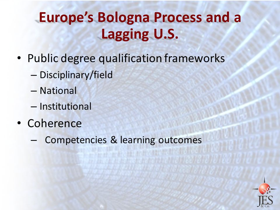 Europe's Bologna Process and a Lagging U.S.