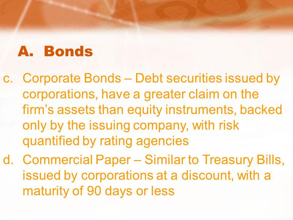 A. Bonds