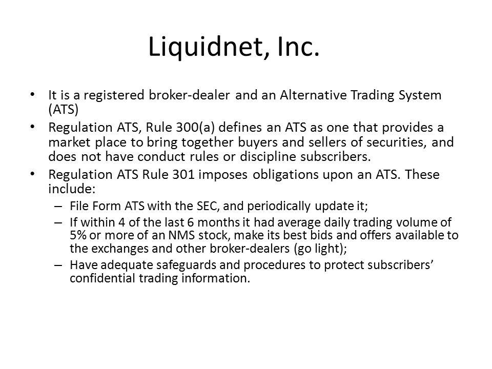 Liquidnet, Inc.