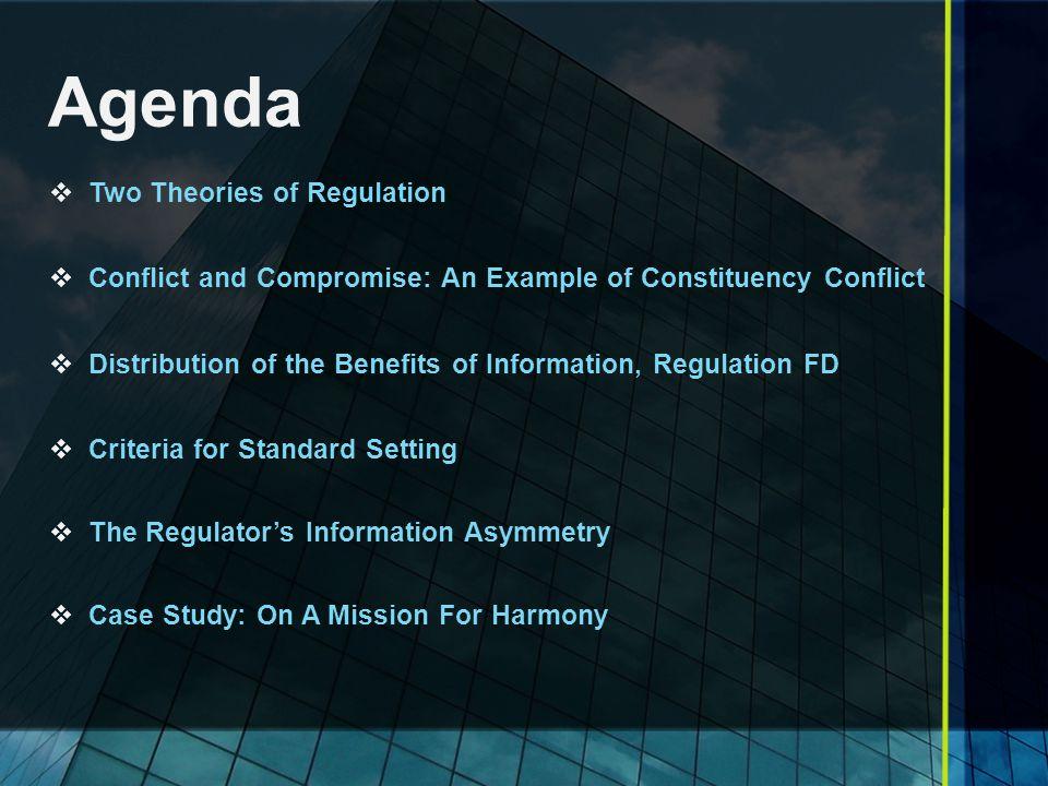 Distribution of Benefits of Information, Regulation FD