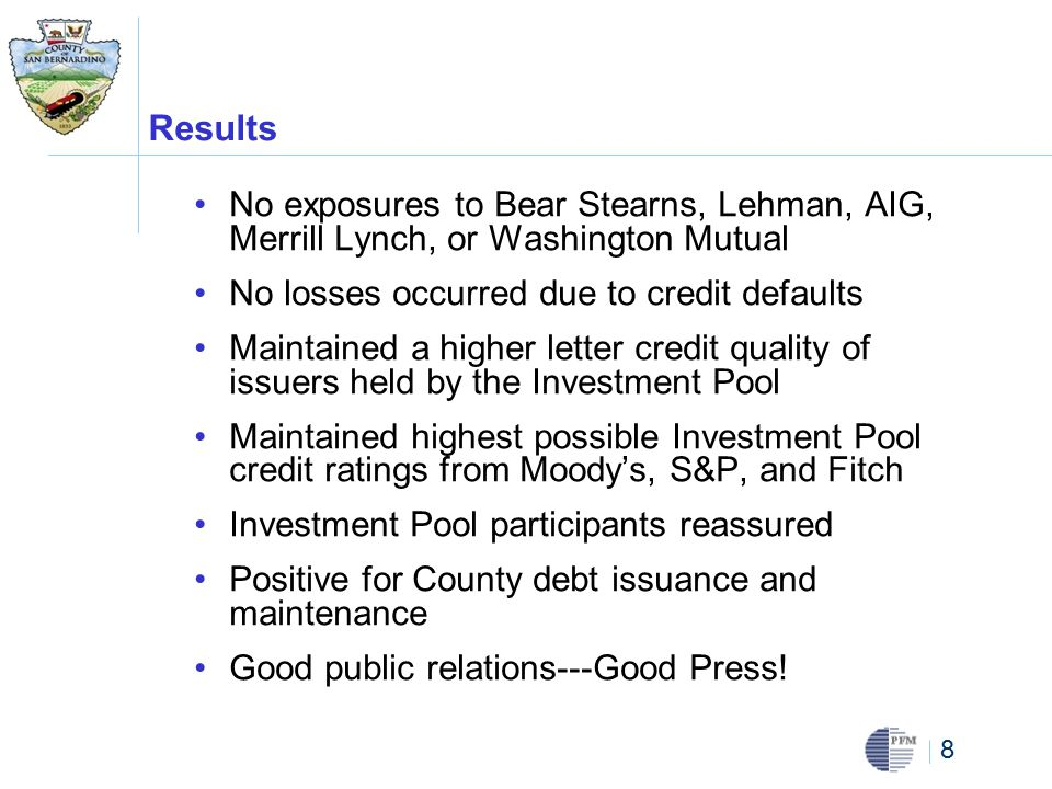 39 Some Characteristics of Good Credits Leader in its industry Essential Industry Diverse revenue and profit streams Superior financial condition, debt levels and profitability when compared to peers Large market capitalization Improving or stable credit rating Easily accessible information Plenty of news flow Companies that are good credit risks have similar characteristics