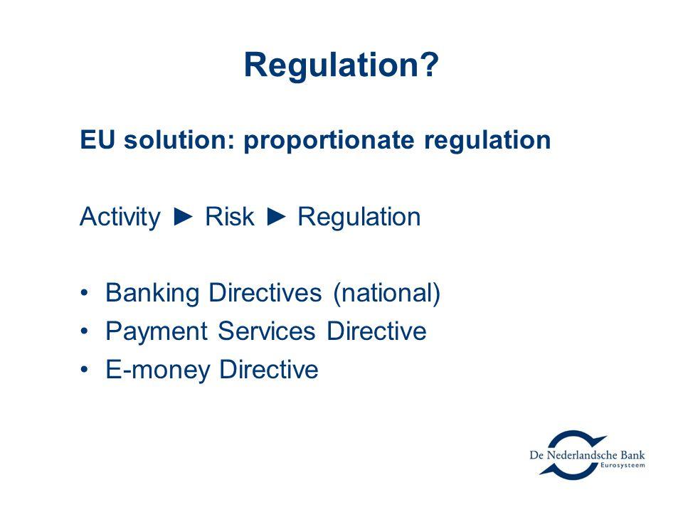 Regulation.