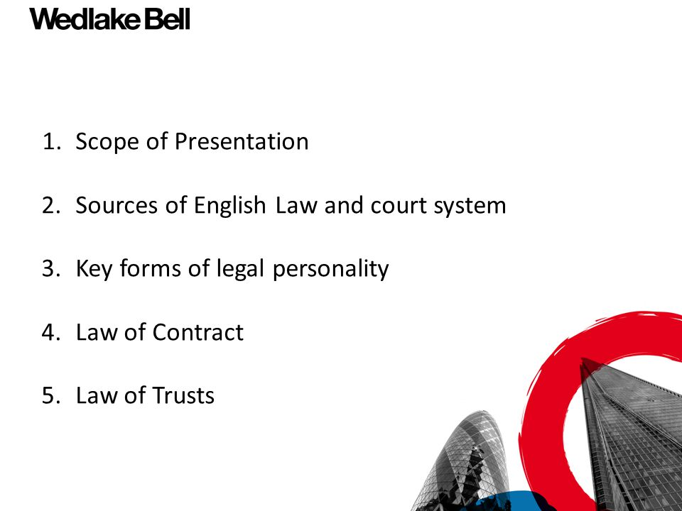 Terms of a Contract continued Further distinction between two types of terms - conditions and warranties.