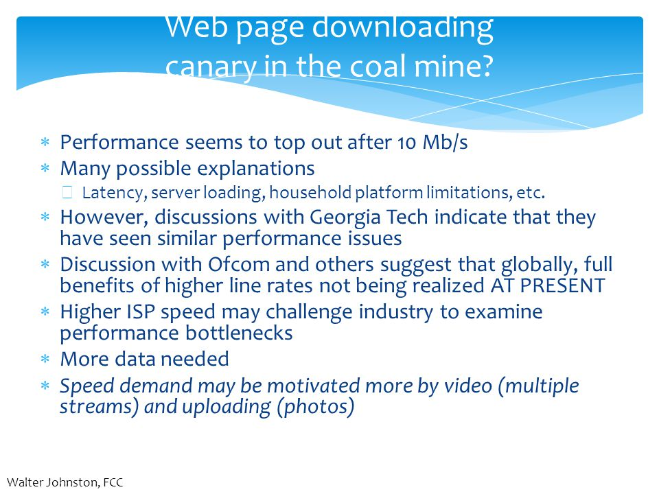 Web page downloading canary in the coal mine.