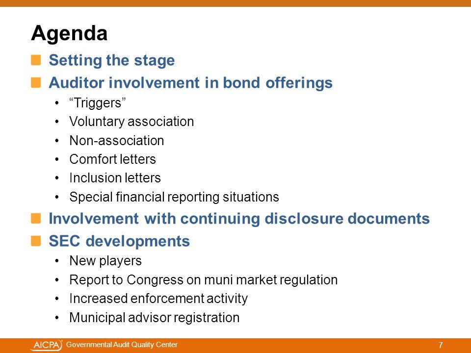 #aicpacw Governmental Audit Quality Center Question #3.