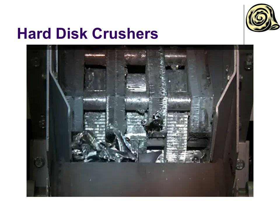 Hard Disk Crushers