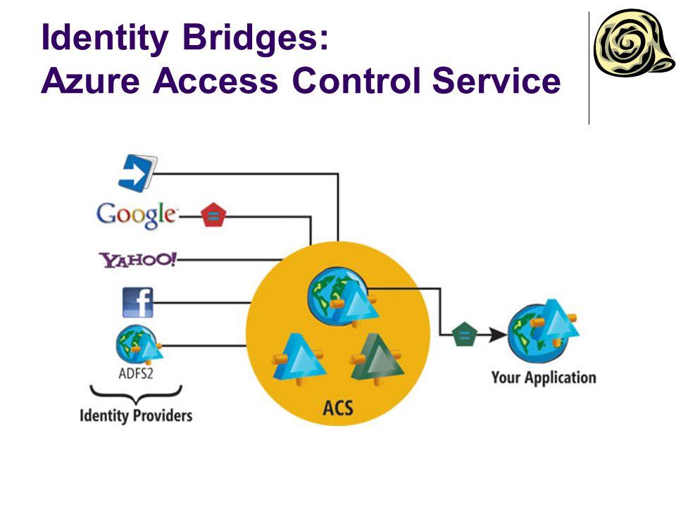 Identity Bridges: Azure Access Control Service