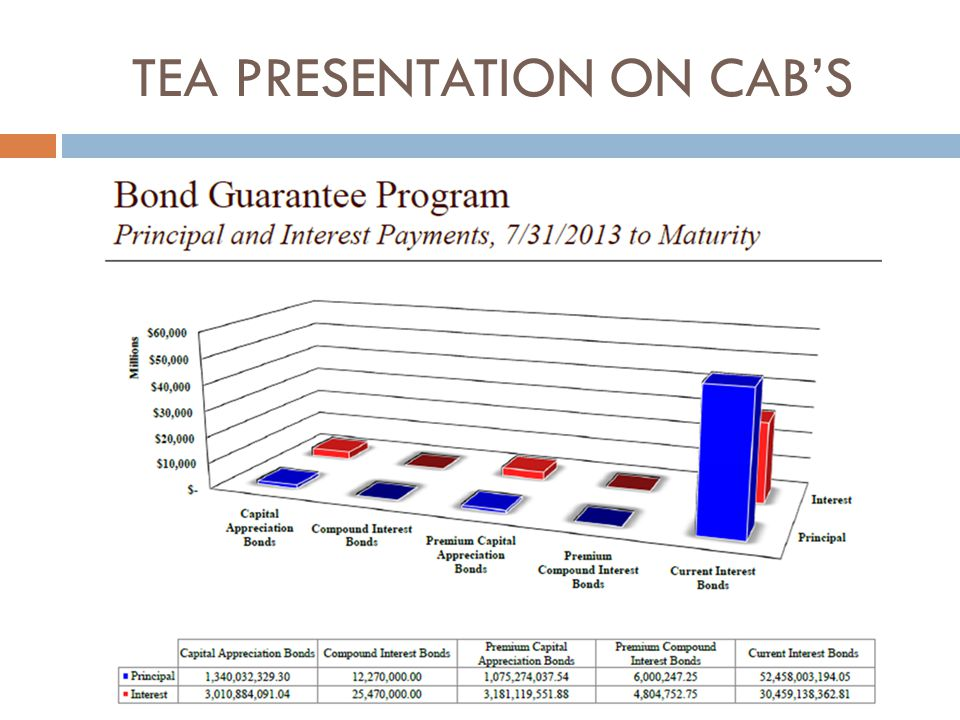TEA PRESENTATION ON CAB'S