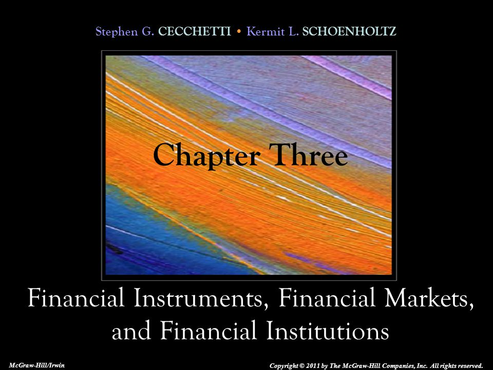 3-12 Characteristics of Financial Instruments These contracts are very complex.