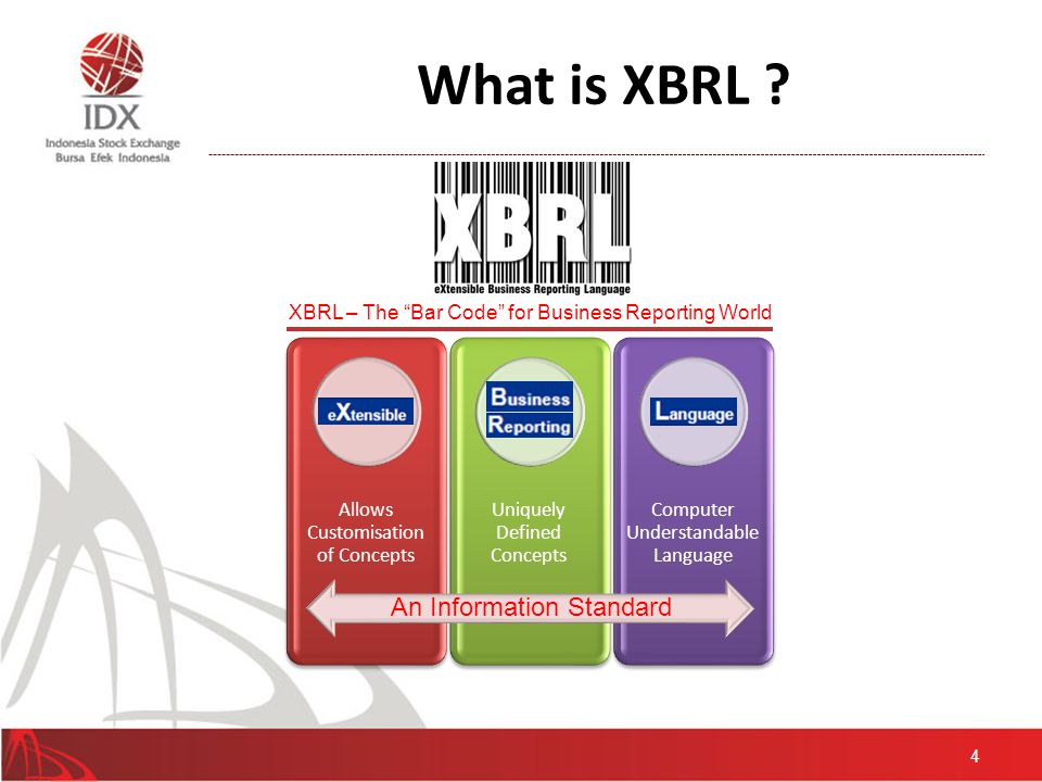 What is XBRL .