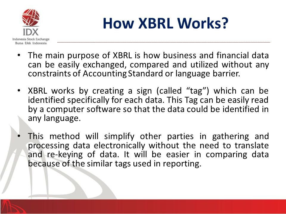 How XBRL Works.