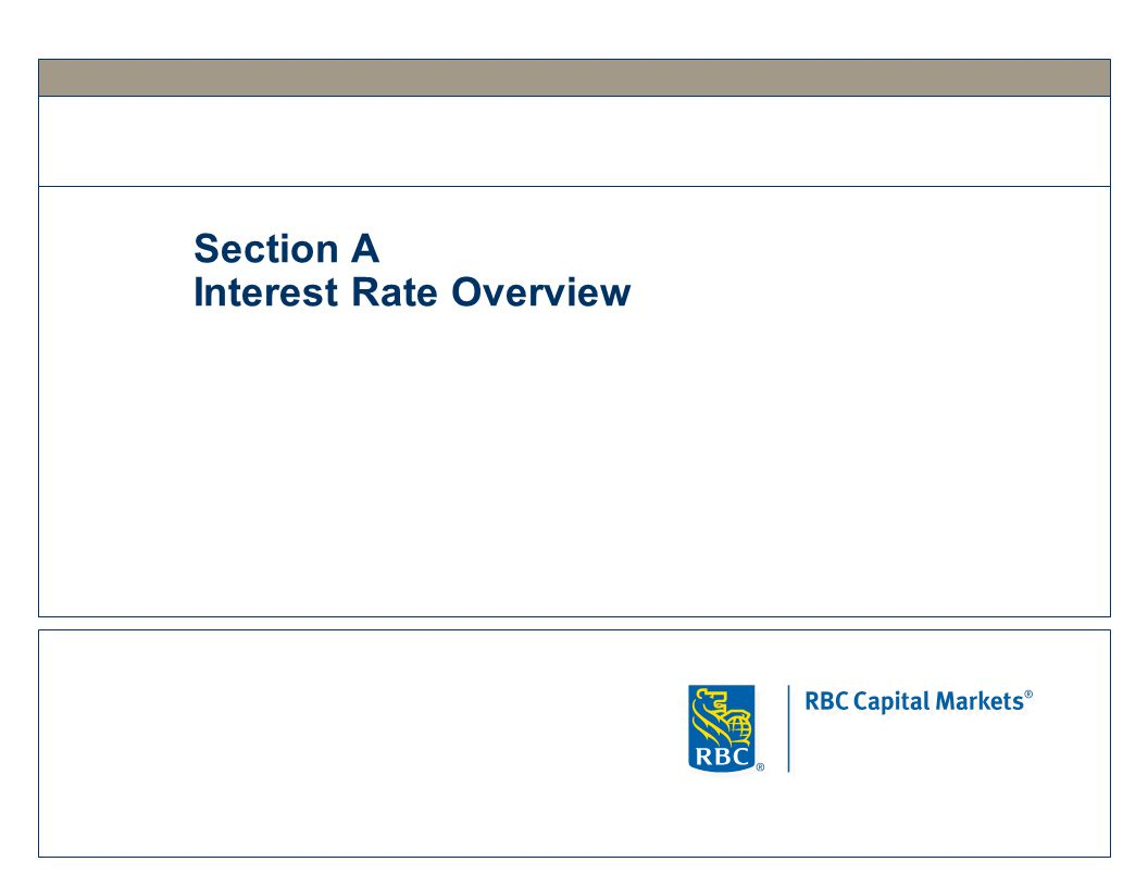 Section A Interest Rate Overview