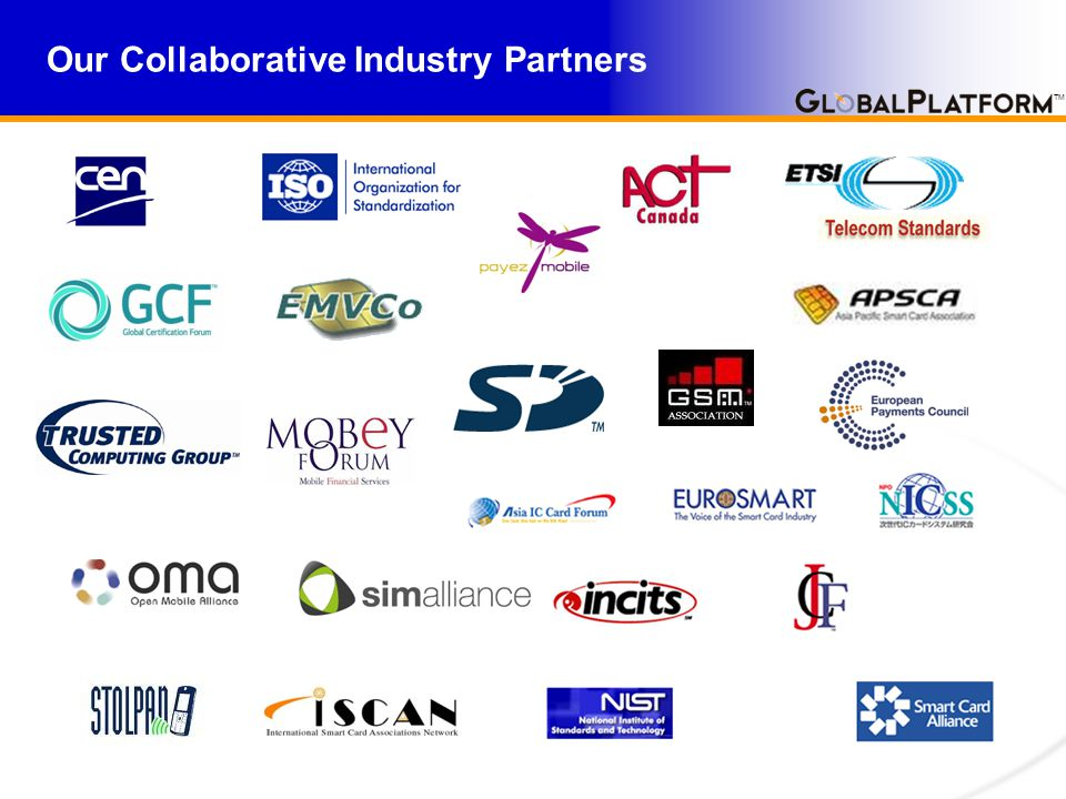 TM Our Collaborative Industry Partners