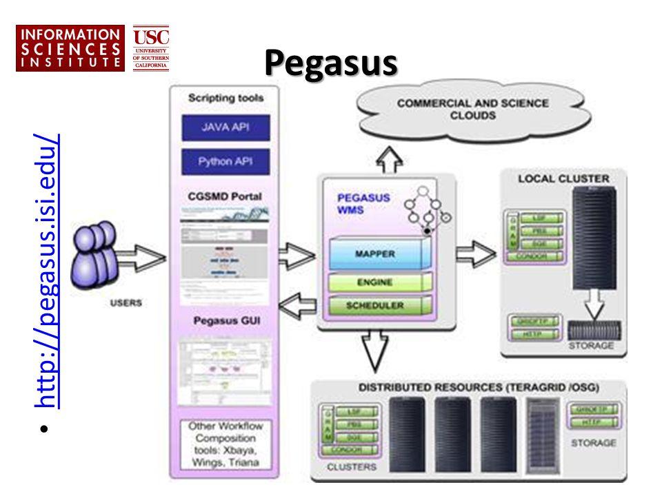 Pegasus http://pegasus.isi.edu/