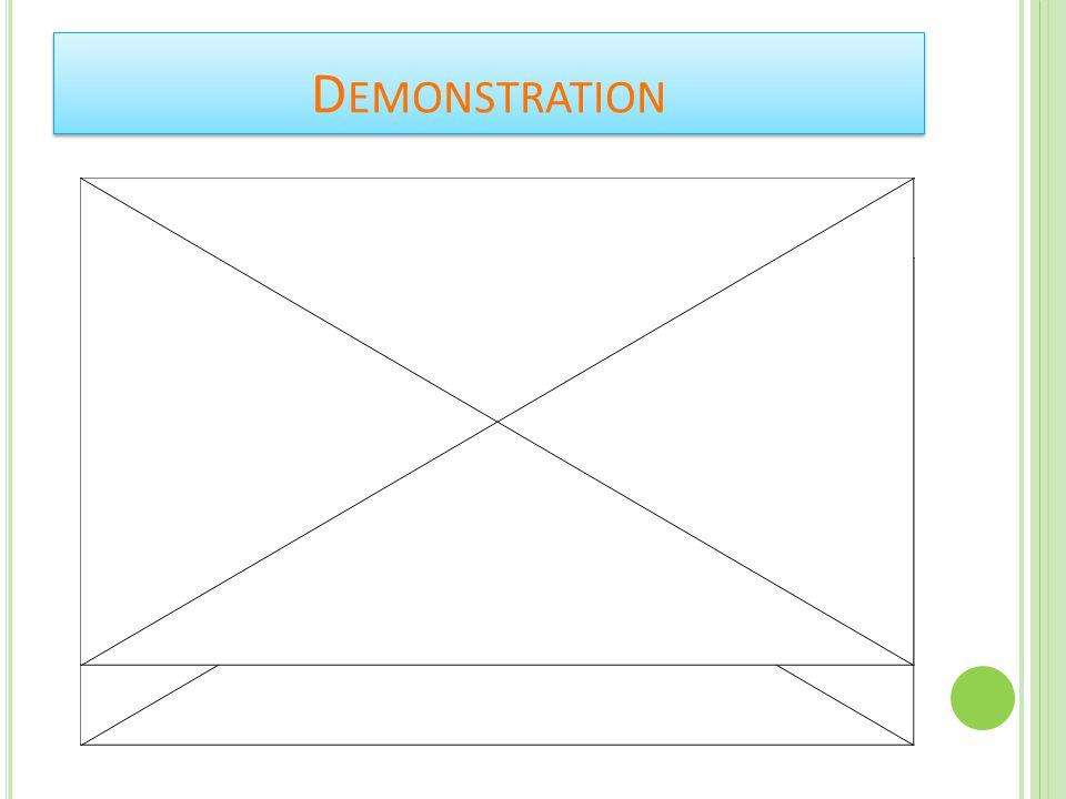 D EMONSTRATION