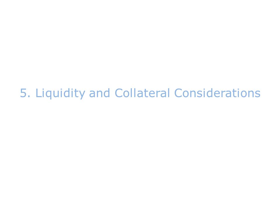 5.Liquidity and Collateral Considerations