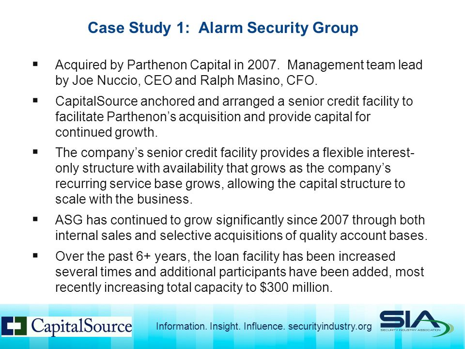  Acquired by Parthenon Capital in 2007.