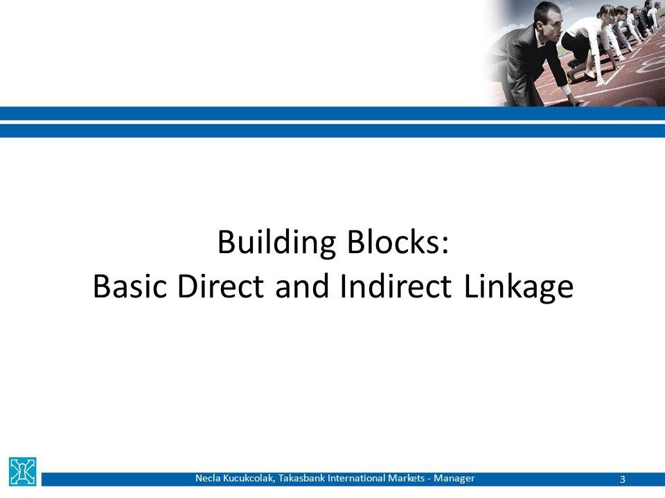 Building Blocks: Basic Direct and Indirect Linkage Necla Kucukcolak, Takasbank International Markets - Manager 3