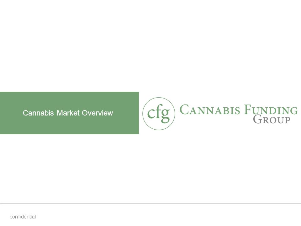 Cannabis Market Overview confidential