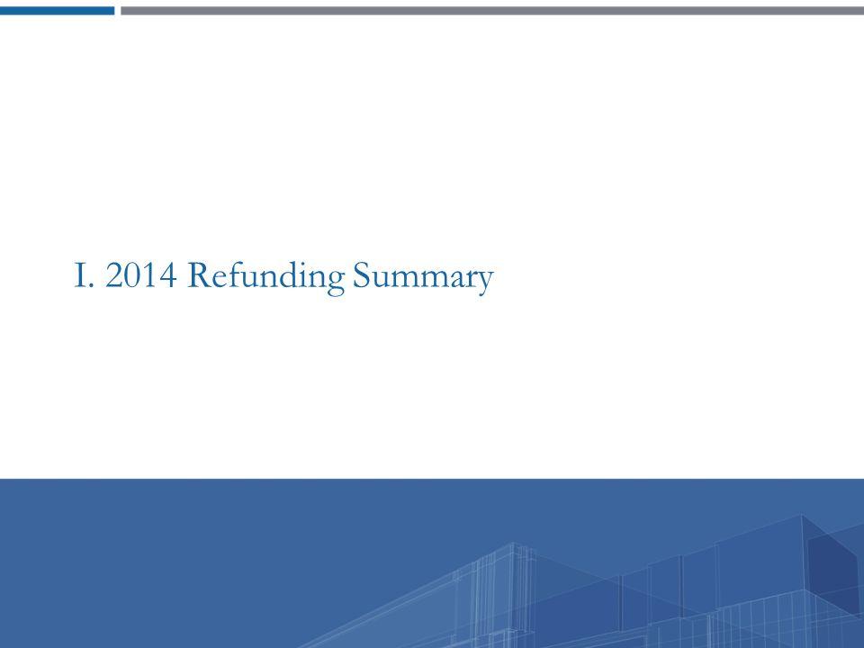 I. 2014 Refunding Summary