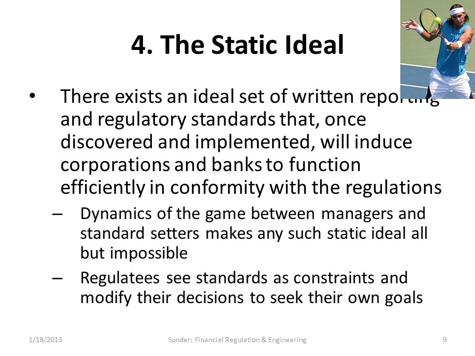 Why Difficulty Writing Regulatory Standards for Derivatives.
