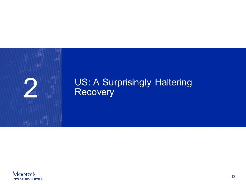 13 US: A Surprisingly Haltering Recovery 2