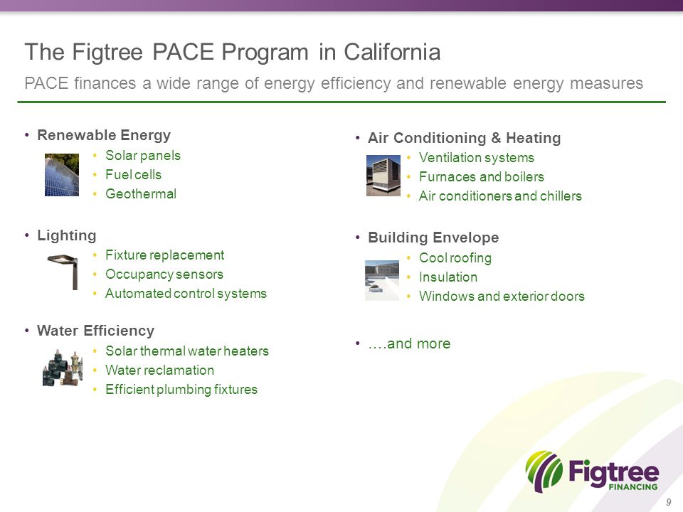 20 Adopting the Figtree PACE program Join the California Enterprise Development Authority (CEDA) Adopt a resolution authorizing CEDA to operate the program Execute the indemnification agreement We launch the program 90 days later