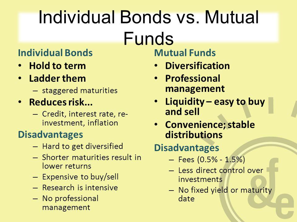 Individual Bonds vs.