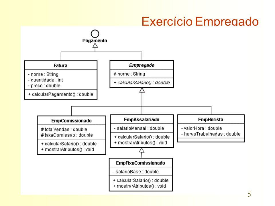5 Exercício Empregado