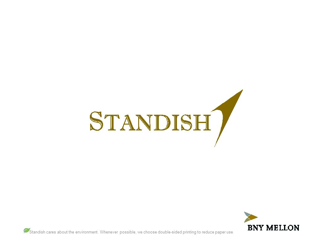 Standish cares about the environment. Whenever possible, we choose double-sided printing to reduce paper use.
