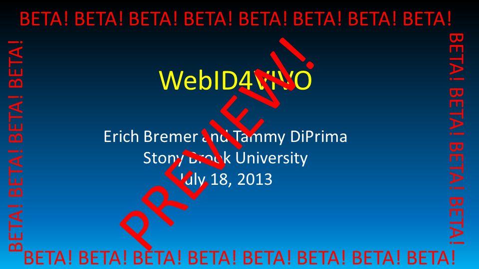What is WebID.