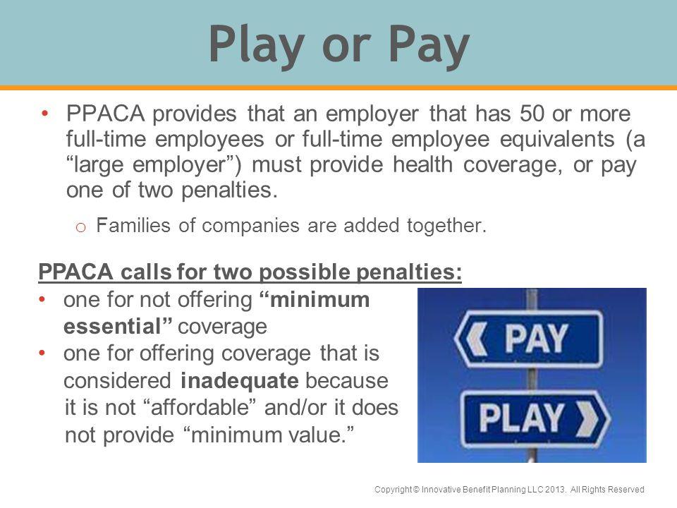 Copyright © Innovative Benefit Planning LLC 2013.