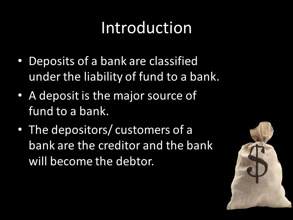 Types of Deposits Savings Account Current Account Fixed Deposit Account Negotiable Instruments of Deposits (NIDs)