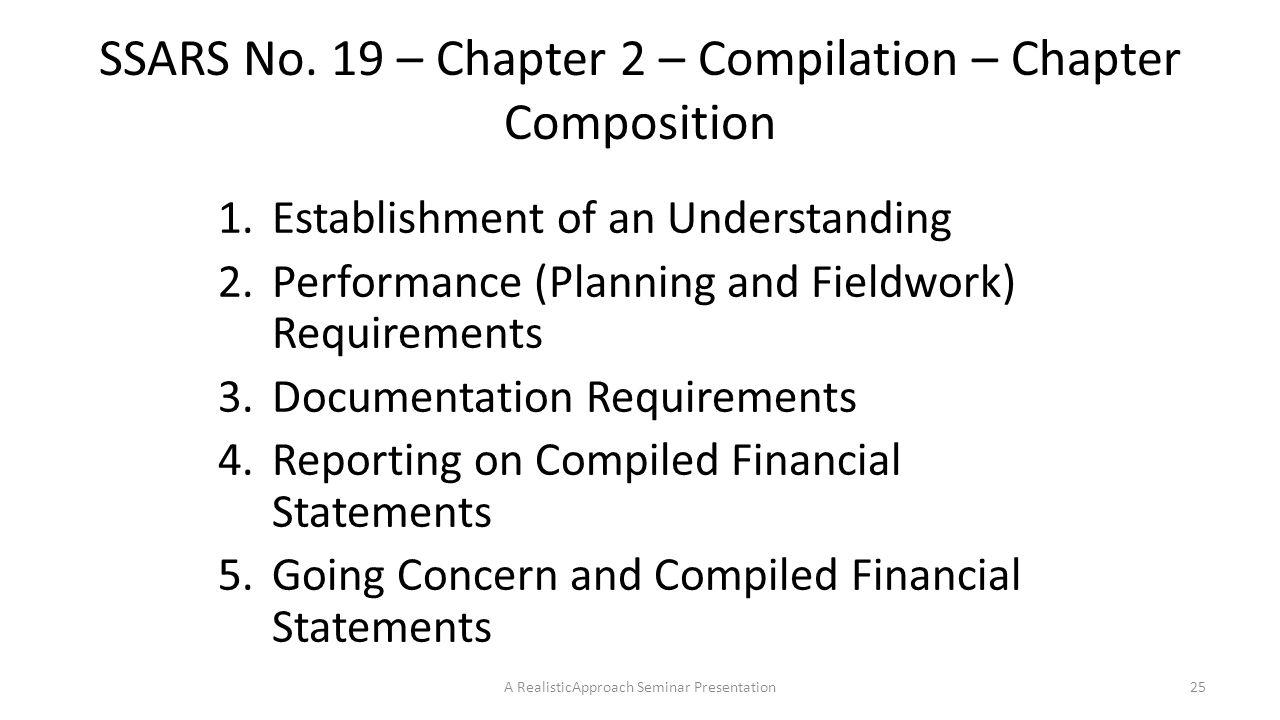 Compilation report sample ssars 21 compilation