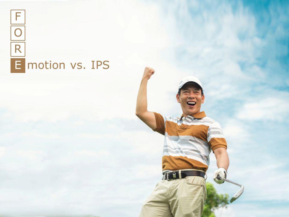20 F O R E motion vs. IPS